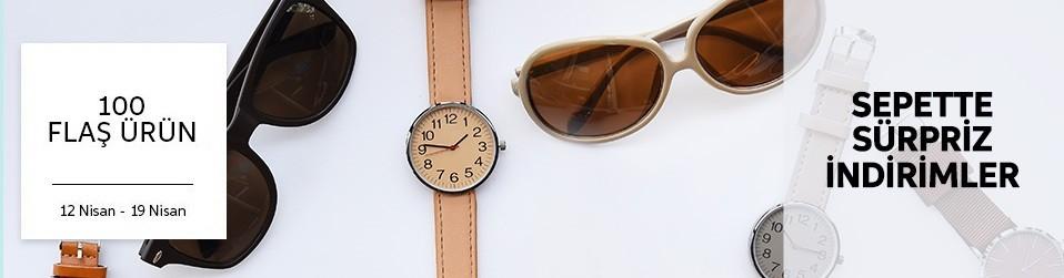 Flash 100 Ürün - Saat&Gözlük