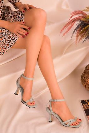 Soho Exclusive Yeşil Kadın Klasik Topuklu Ayakkabı 15834 1