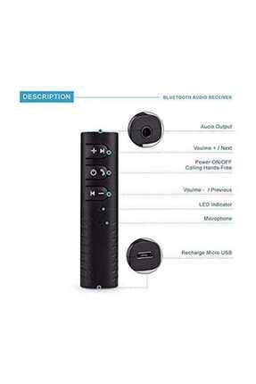Paleon Bluetooth Aux Kiti Araç Kiti 3,5 Mm Aux Ses Bluetooth Adaptör 3