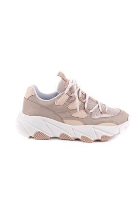 NAVYSIDE Kadın Yüksek Tabanlı Spor Ayakkabı Sneaker Yürüyüş Ayakkabısı 4