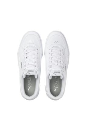 Puma SKYE CLEAN Beyaz Kadın Sneaker Ayakkabı 101085505 4