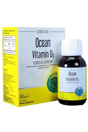 Orzax Ocean Vitamin D3 1000 Iu Oral Damla 50 ml 1
