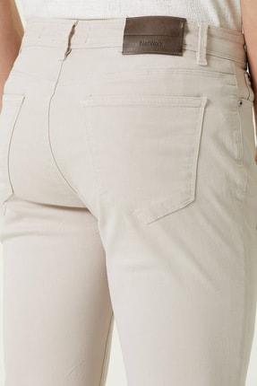 Network Erkek Slim Fit Bej Casual Pantolon 1077941 2