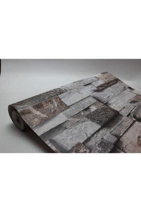 Zümrüt Joven 7075 Taş Desen Duvar Kağıdı 5,33 M² 2