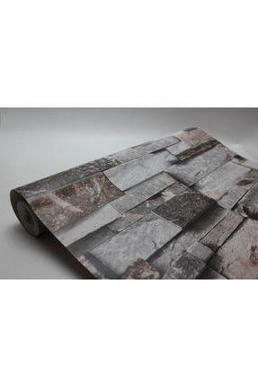 Zümrüt Joven 7075 Taş Desen Duvar Kağıdı 5,33 M² 3