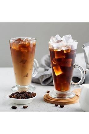 Paşabahçe Colombian 263 ml Kulplu Bardak 2'li - Latte, Limonata, Meşrubat Vb. Bardağı 4