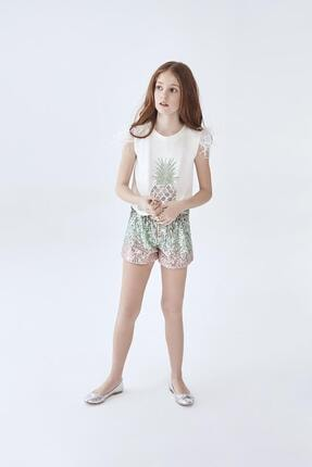 تصویر از Kız Çocuk Renkli Şort