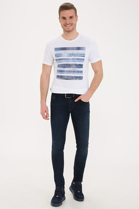 Pierre Cardin Lacıvert Erkek Jeans G021SZ080.000.1244540 0