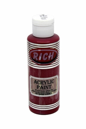 Rich Şarap Kırmızı Akrilik Boya 130 cc 161 0