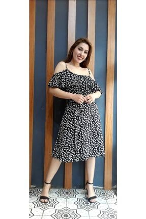 Kadın Diz Altı Elbise ROK7474857-737