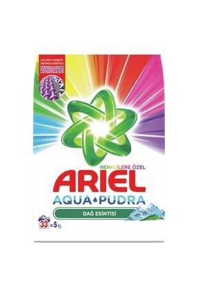 Ariel Toz Çamaşır Deterjanı Dağ Esintisi Renkliler 5 kg 1