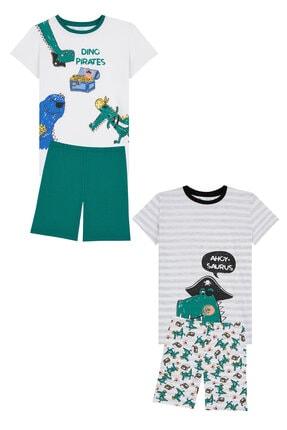 Penti Çok Renkli  Pijama Takımı 4lu 3