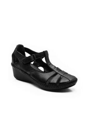 Deri Topuklu Ayakkabı CEYO 04 SİYAH