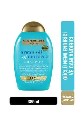 OGX Extra Güçlü Nemlendirici ve Canlandırıcı Argan Oil of Morocco Sülfatsız Şampuan 385 ml 1