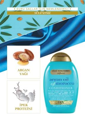 OGX Extra Güçlü Nemlendirici ve Canlandırıcı Argan Oil of Morocco Sülfatsız Bakım Kremi 385 ml 2