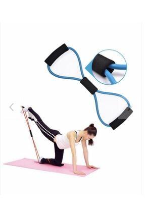 CMT Pilates Jimnastik Egzersiz Bant Yoga Lastik Spor Kondisyon 1