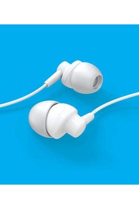 Syrox Beyaz Kablolu Kulak Içi Kulaklık 2