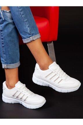ayakkabıhavuzu Kadın Beyaz Spor Ayakkabı 4