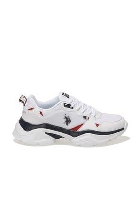 US Polo Assn GAL TEX Beyaz Kadın Sneaker Ayakkabı 100604856 1