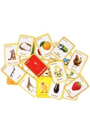 DIY Toys Flash Cards İlk 50 Sözcük + Bebeğimin İlk Zeka Kartları / 93509 3