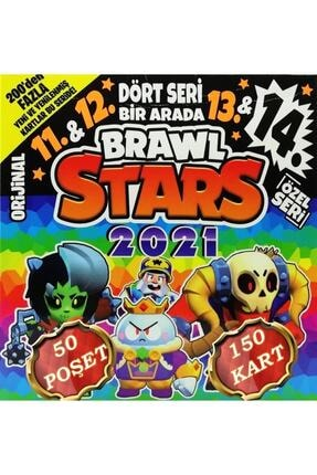 brawl stars 2021 Oyun Kartı - 11. 12. 13. 14. Seri - 50 Poşet - 150 Kart 0