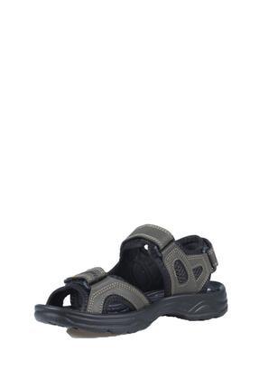 Castle Black Unisez Haki Cırtbantlı Sandalet K-3 1