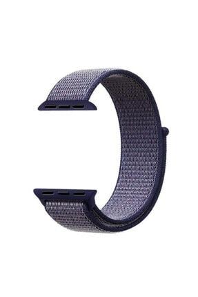 Apple Watch Series 6 40mm Uyumlu Hasırlı Kordon 2