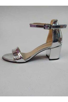 Topuklu Ayakkabı Gri 93