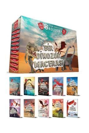 Model Eğitim Yayınları Bir Dinozor Macerası Hikaye Seti 0
