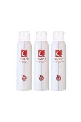 Caldion Kadın Deodorant 150 ml X 3 Adet 0