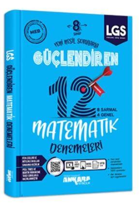 Ankara Yayıncılık 8. Sınıf Matematik 12 Güçlendiren Deneme 0