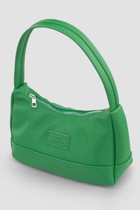 Housebags Kadın Yeşil Baguette Çanta 197 3