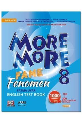 Kurmay Elt Yayınları 8.sınıf More More Fame Fenomen Englısh Test Book 2021 0
