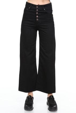 Sismo Butik Yüksek Bel Wide Leg Jeans 0