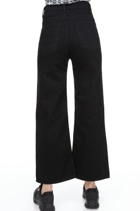 Sismo Butik Yüksek Bel Wide Leg Jeans 4