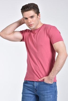 Rodi Jeans Rodi Rd21ye278610 Pembe Erkek Bisiklet Yaka Basic T-shirt 3