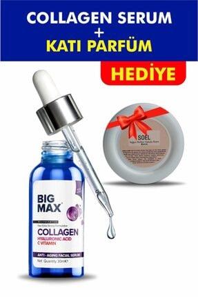 BİG MAX Kolajen C Vitamini Hyaluronik Asit Aydınlatıcı Ve Kırışıklık Karşıtı Yüz Serumu 30 ml 0