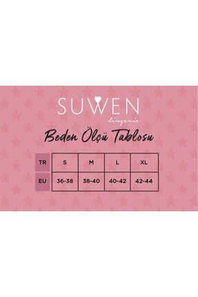 Suwen Kadın Siyah Baskili Felicity Maskulen Pijama Takımı 3