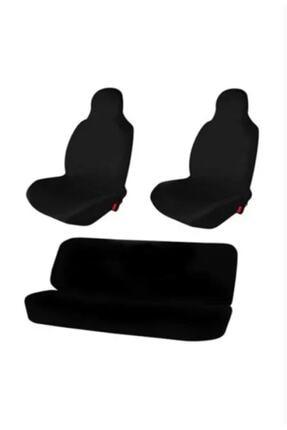 H&B Design Otomobil Servis Kılıfı Likralı Esnek Siyah Tüm Araç Modellerine Uygundur 0