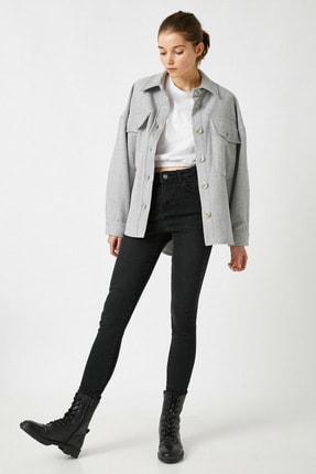 Koton Kadın Siyah Jeans 1KAK47629MD 1