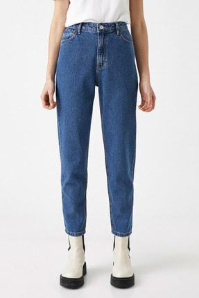 Koton Kadın Orta İndigo Jeans 1YAK47979MD 2