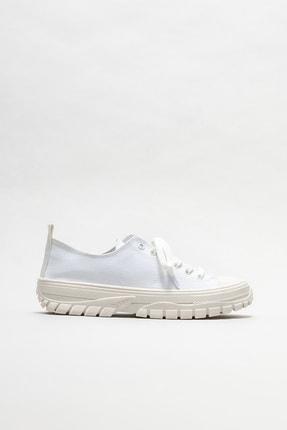 Elle Kadın Beyaz Spor Ayakkabı 0