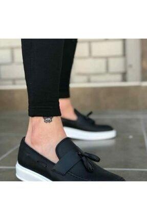 Casual Erkek Siyah Loafer Ayakkabı 0