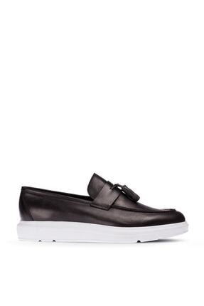 Casual Erkek Siyah Loafer Ayakkabı 1