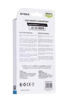 Syrox Samsung J3 / J5 Batarya 2