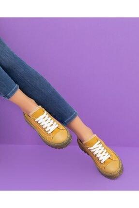 Espardile Kadın Ortopedik Taban Sneaker 0