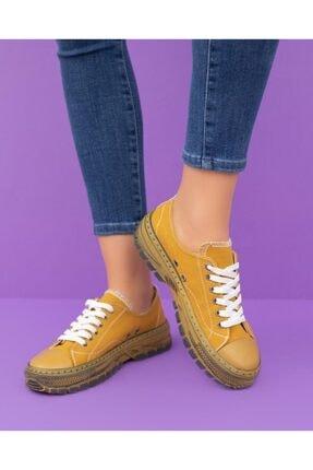 Espardile Kadın Ortopedik Taban Sneaker 2