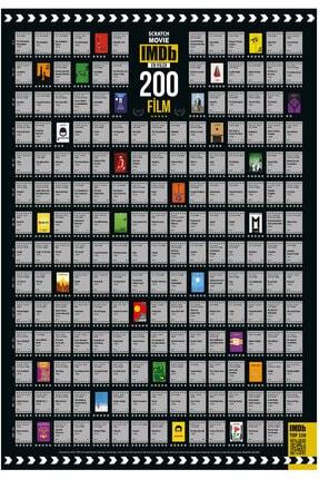Scratch Map Imdb 200 Kazı İzle Kazınabilir En Iyi 200 Film Posteri Tüm Zamanların En İyileri Dev Boy Xl 0