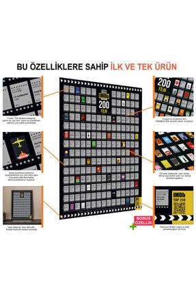 Scratch Map Imdb 200 Kazı İzle Kazınabilir En Iyi 200 Film Posteri Tüm Zamanların En İyileri Dev Boy Xl 1