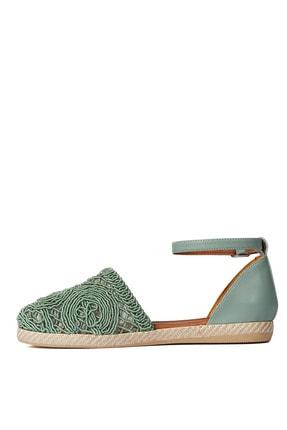 Sole Sisters Düz Sandalet Mint - Magura 4